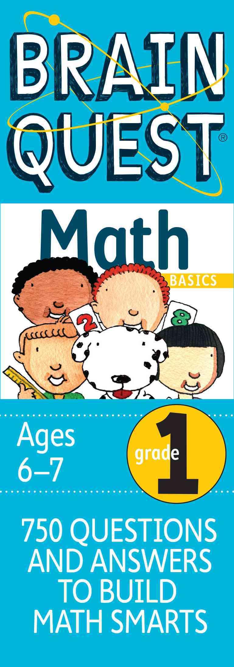 Brain Quest  Math Basics Grade 1 By Martinelli, Marjorie